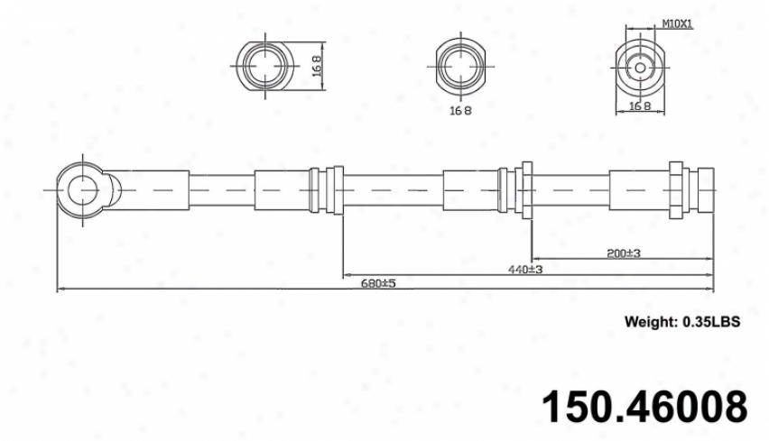 Centric Quarters 150.46008 Dodge Parts