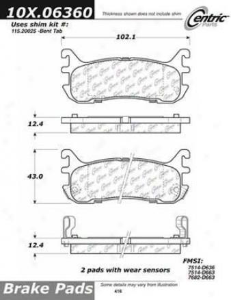 Centric Partx 150.66044 Gmc Brake Clutch Hoses