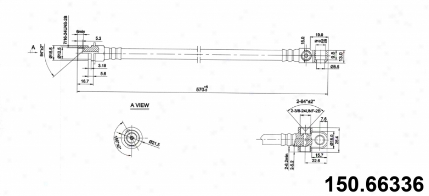 Centric Parts 150.66336 Gmc Parts