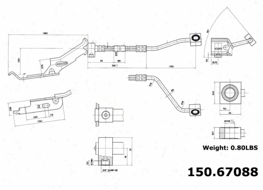 Centric Parts 150.67088 Dodge Parts