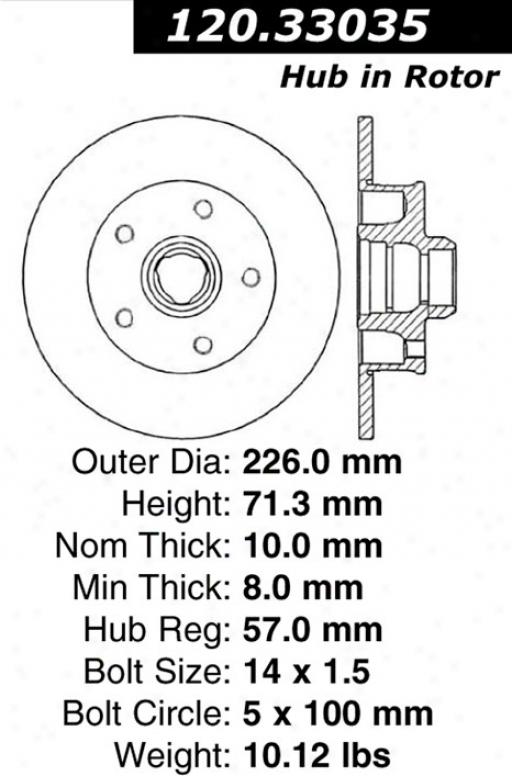 Ctek By Centric 121.33035 Audi Parts