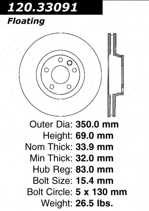 Ctek By Centric 121.33091 Audi Quarters
