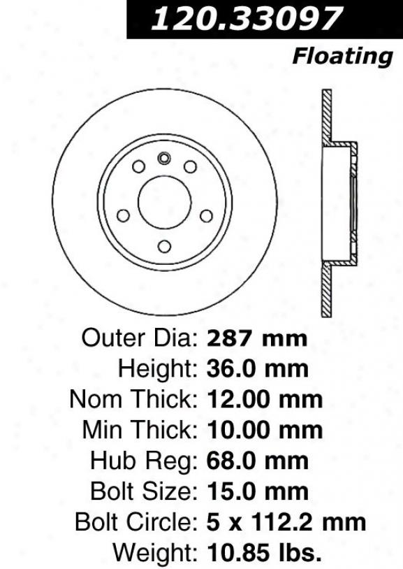 Ctek By Centric 121.33097 Audi Parts