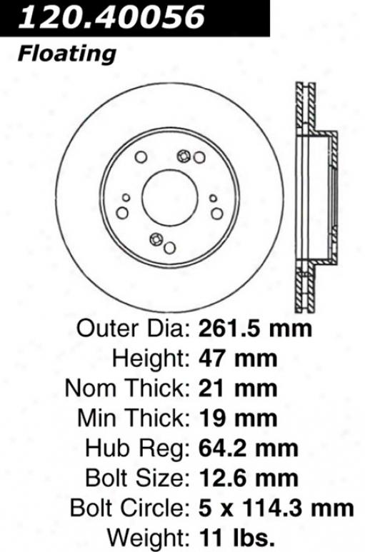 Ctek By Centric 121.40056 Acua Parts