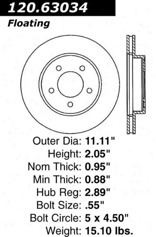 Ctek By Centric 121.63034 Dodge Parts
