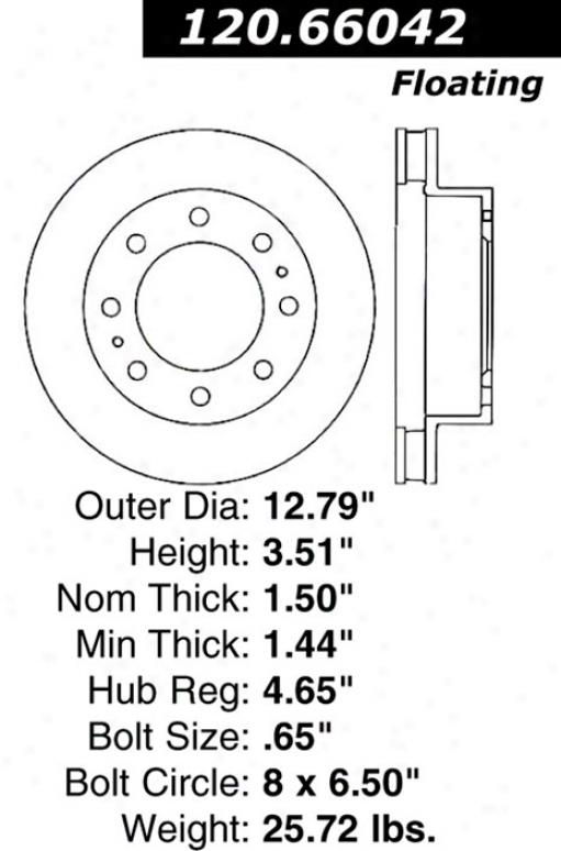 Ctek By Centric 121.66042 Chevrolet Parts