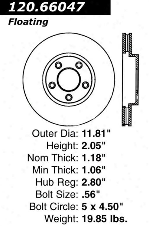 Ctek By Centric 121.66047 Chevrolet Parts