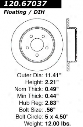 Ctek From Centric 121.67037 Dodge Parts
