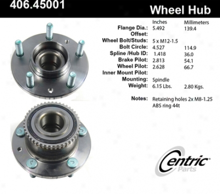 Ctek By Centric 406.45004e Chevrolet Parts