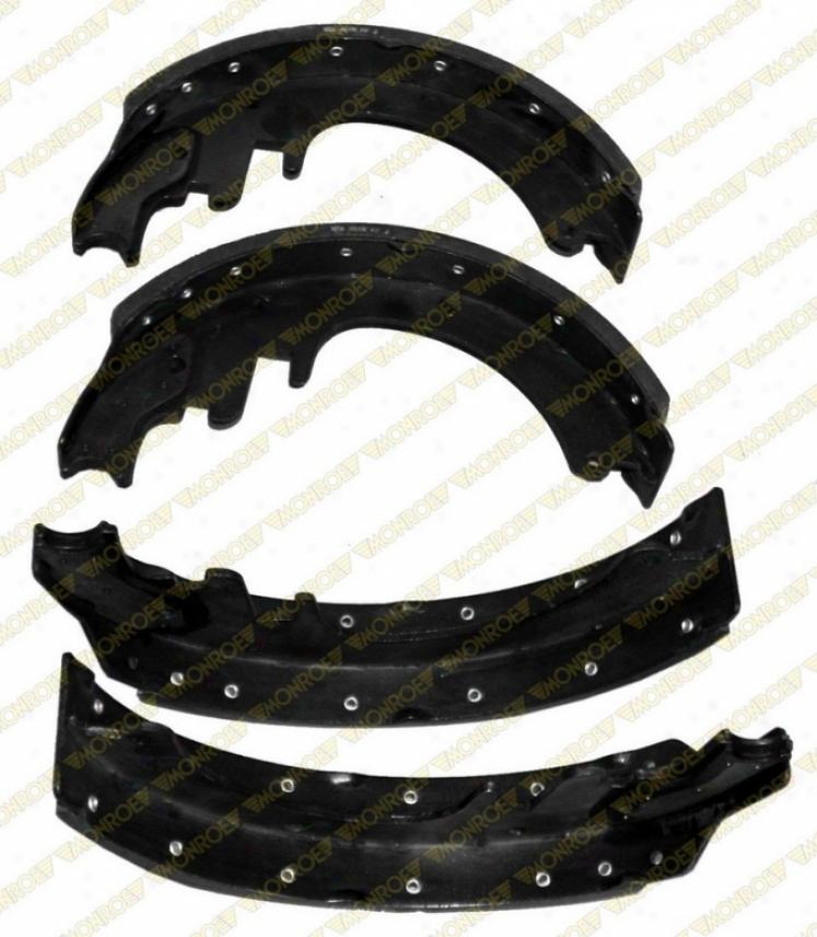 Monroe Premium Brake Pads Bx451r Chevrolet Brake Shoes