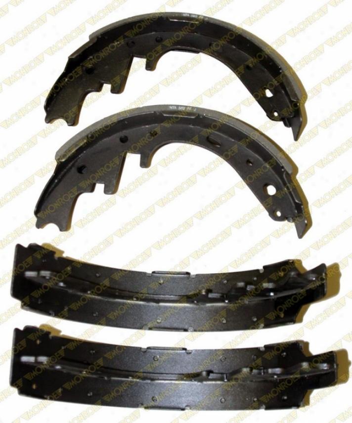 Monroe Premium Thicket Pads Bx582 Ford Brake Shoes