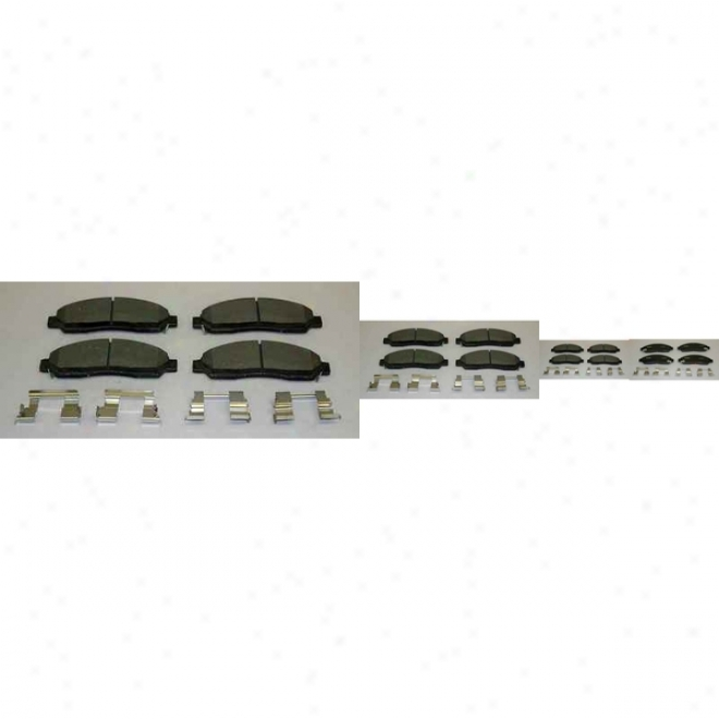 Monroe Premium Brake Pads Cx1039 Nissan/datsun Ceramic Brake Pads
