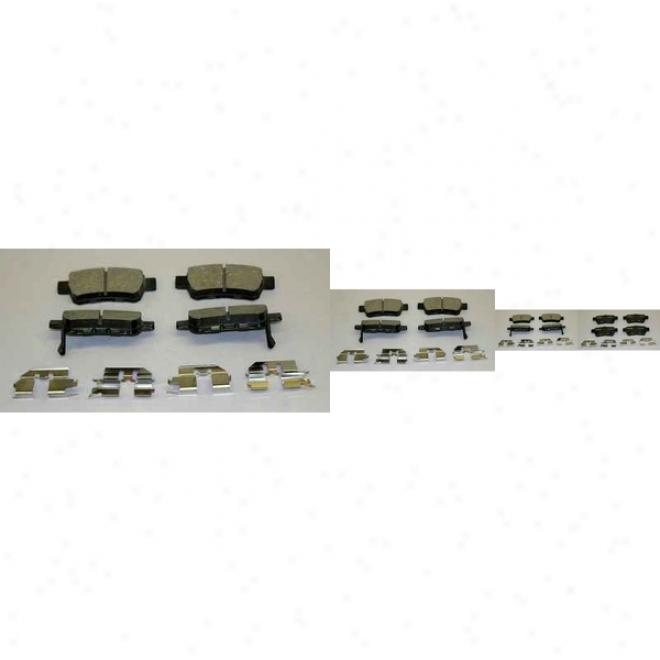 Monroe Premium Brake Pads Cx1088 Honda Ceramic Brake Pads