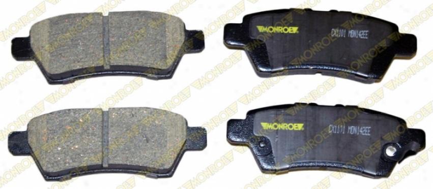 Monroe Premium Brake Pada Cx1101 Honda Ceramic Brake Pads
