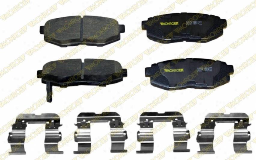 Monroe Premium Brake Pads Cx11Z4 Hyundai Ceramic Brake Pads