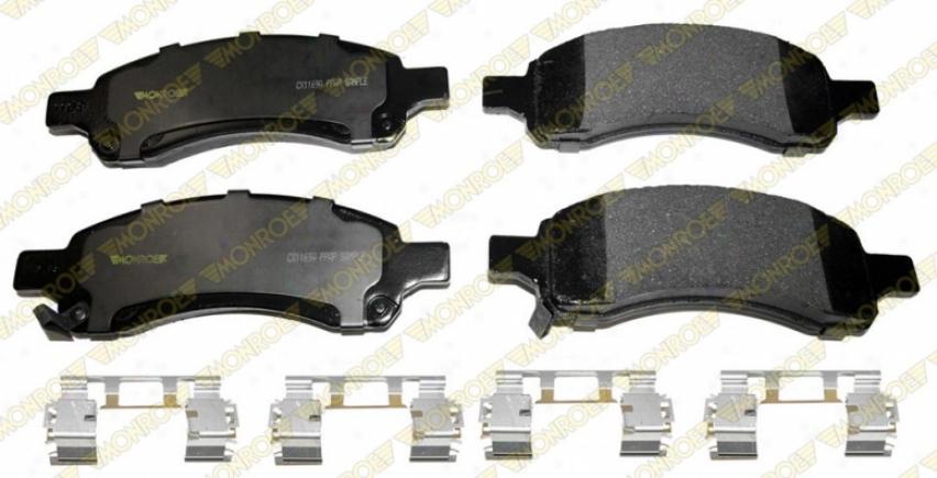 Monroe Premium Brake Pads Cx1169a Cadillac Ceramic Brake Pads