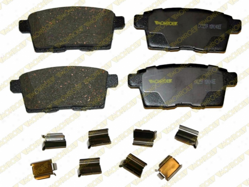 Monroe Premium Brake Pads Cx1259 Chevrolet Ceramic Brake Pads