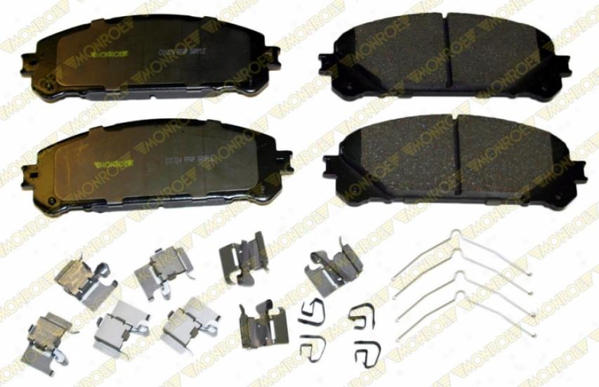 Monroe Premium Brake Pads Cs1324 Toyota Parts