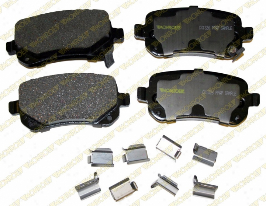Monroe Premium Brake Pads Cx1326 Cadillac Ceramic Brake Pads