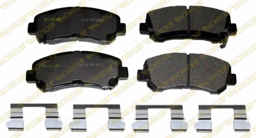 Monroe Premium Brake Pads Cx1338 Nissan/datsun Ceramic Brake Pads