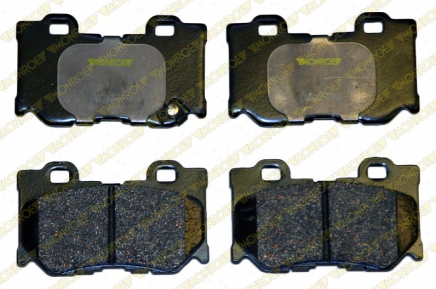 Monroe Premium Brake Pads Cx1347 Pontiac Parts