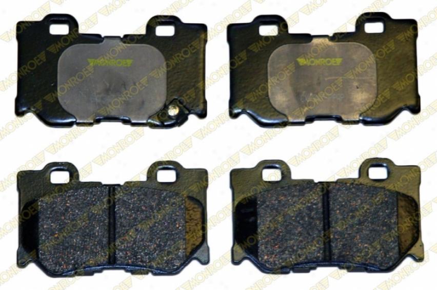 Monroe Premium Brake Pads Cx1347 Pontiac Parts