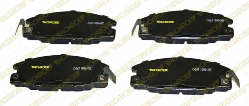 Monroe Premium Brake Pads Cx363 Honda Ceramic Brake Pads
