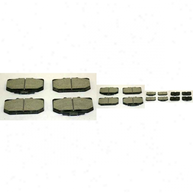 Monroe Premium Brake Pads Cx460 Nissan/datsun Ceramic Brake Pads