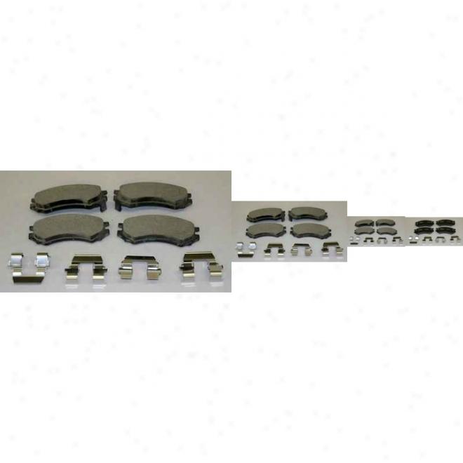 Monroe Premium Brake Pads Cx507 Saturn Ceramic Brake Pads