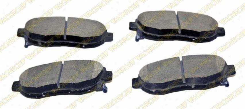 Monroe Premium Brake Pads Cx619 Honda Ceramic Brake Pads