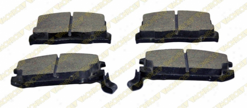 Monroe Reward Brake Pads Cx657 Chrysler Ceramic Brake Pads