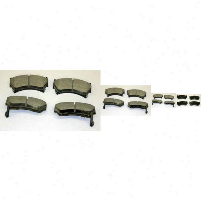 Monroe Premium Brake Paads Cx668 Nissan/datsun Ceramic Brake Pads
