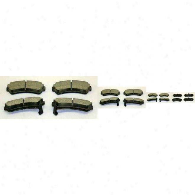 Monroe Premium Brae Pads Cx669 Toyota Parts