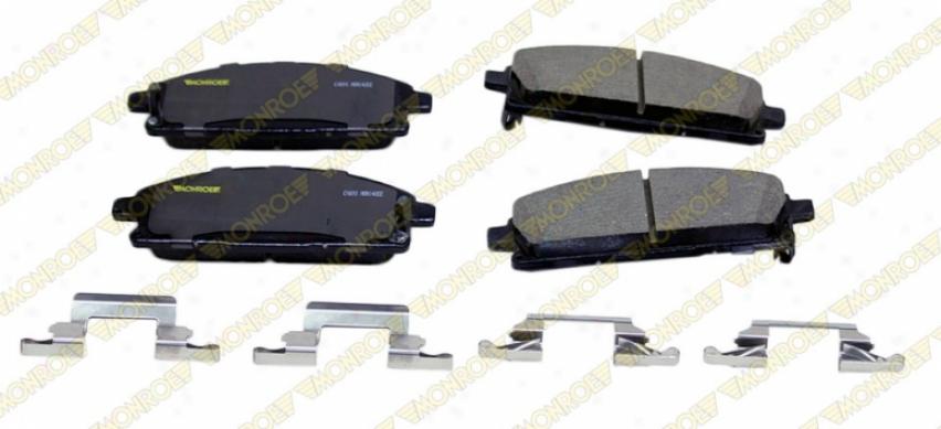 Monroe Premium rBake Pads Cx691 Chevrolet Ceramic Brake Pads