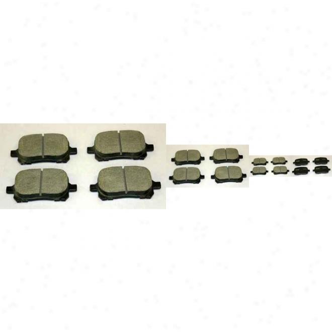 Monroe Premium Brake Pads Cx707 Saab Ceramic Brake Pads