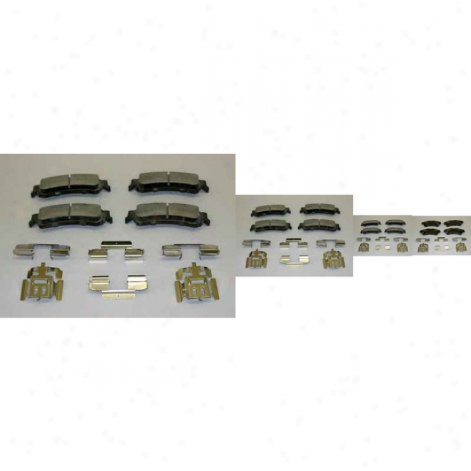 Monroe Premium Brake Pads Cx792 Chevrolet Ceramic Brake Pads