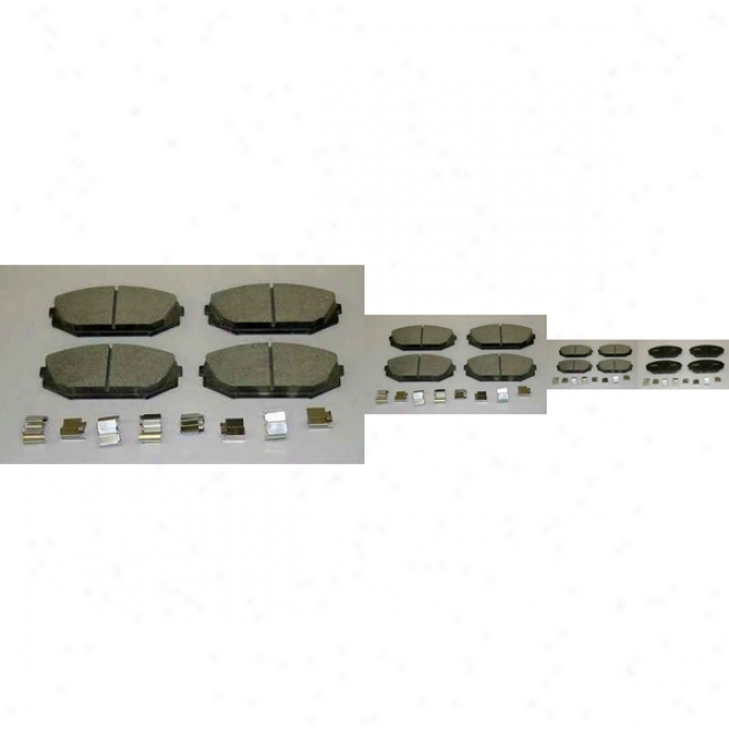 Monroe Premium Brake Pads Cx793 Toyota Ceramic Brake Pads