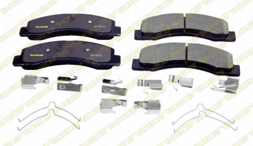 Monroe Premium Brake Pads Cx824 Toyota Ceramic Brake Pads