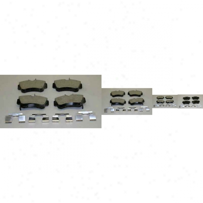 Monroe Premium Brake Pads Cx841 Dodge Ceramic Brake Pads