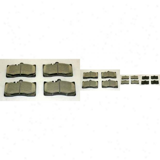 Monroe Premium Brake Pads Cx870 Lexus Ceramic Brake Pads
