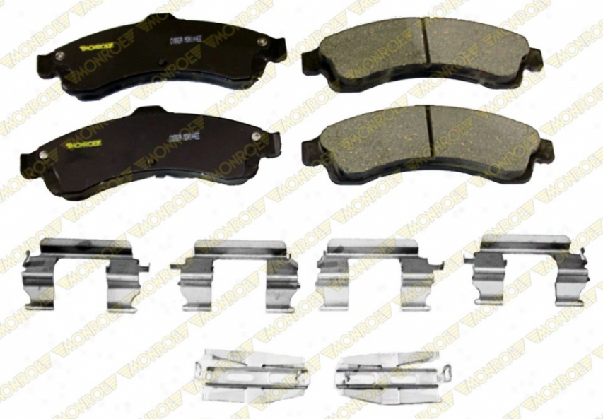 Monroe Premium Brake Pads Cx882aa Gmc Ceramic Brake Pads