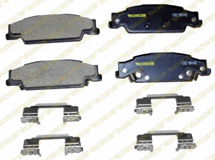 Monroe Premium Brake Pads Cx922a Pontiac Parts