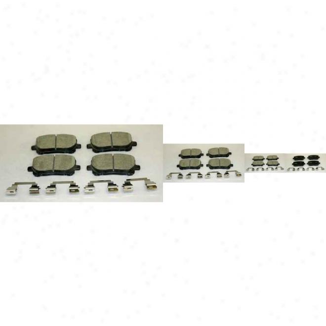 Monroe Premium Brake Pads Cx923 Subaru Ceramic Brake Pads