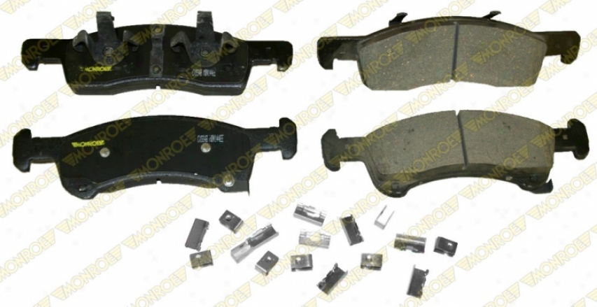 Monroe Premiuk Brake Pads Cx934b Ford Ceramic Brake Pads