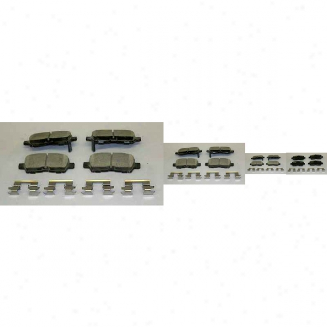 Monroe Premium Braek Pads Cx999 Pontiac Parts