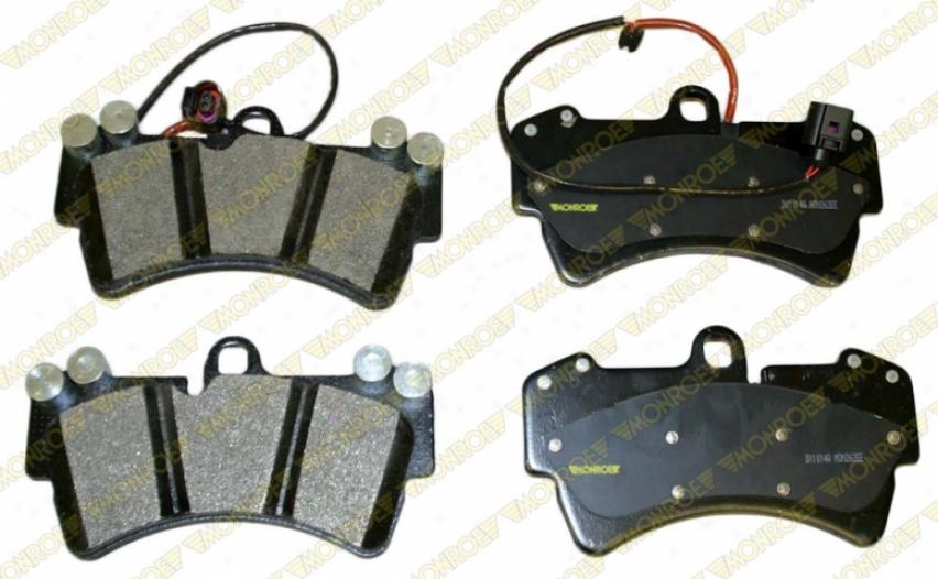 Monroe Premium Brake Pads Dx1014a Nissan/datsun Semi Metalic Brake Pads