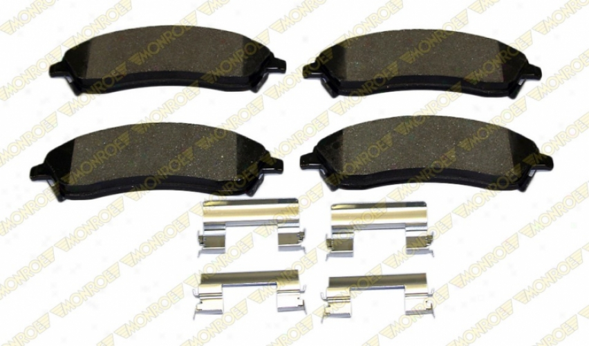Monroe Reward Brake Pads Dx1019a Czdillac Semi Metalic Brake Pads