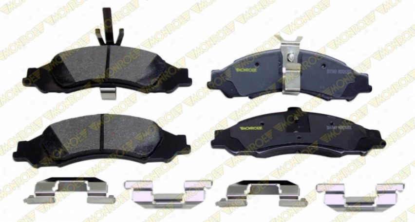 Monroe Rate above par B5ake Pars Dx1043 Mazda Semi Metalic Brake Pads