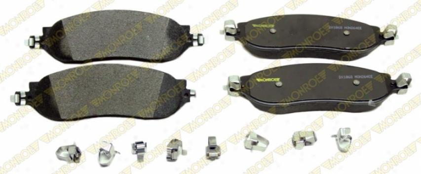 Monroe Premium Brrake Pads Dx1068 Ford Semi Metalic Brake Pads