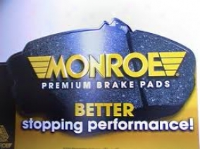Monroe Premium Brake Pads Dx1081 Ford Talents